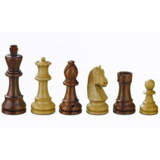 Hand-carved Chessmen Artus 8 sizes 60-110 mm
