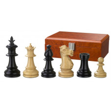 Wooden Chess Pieces Hand-carved Macrinius KH 83 mm