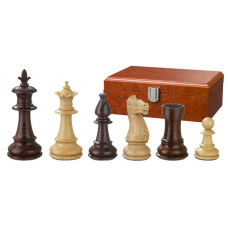 Wooden Chess Pieces Hand-carved Claudius KH 83 mm (2205)