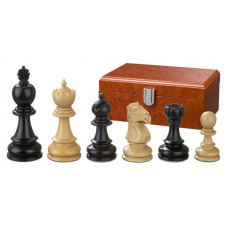 Wooden Chess Pieces Hand-carved Galerius KH 90 mm (2210)