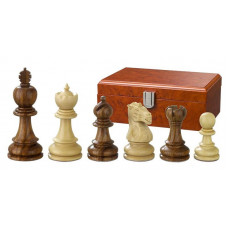 Wooden Chess Pieces Hand-carved Valerian KH 90 mm (2211)