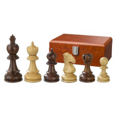 Wooden Chess Pieces Hand-carved Avitus KH 90 mm