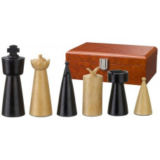 Wooden Chess Pieces 90 mm Modern Style Domitian (2231)