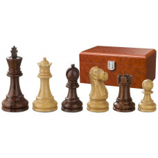 Wooden Chess Pieces Hand-carved Tutencham KH 95 mm (2242)