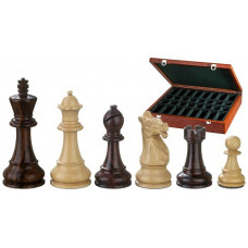 Chess Pieces Hand-carved Justitian KH 105 mm (2245)
