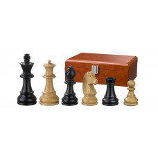 Wooden Chess Pieces Ludwig XIV Hand-carved KH 76 mm