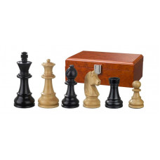 Wooden Chess Pieces Ludwig XIV Hand-carved KH 83 mm (2124)