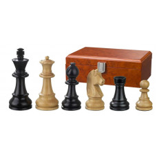 Wooden Chess Pieces Ludwig XIV Hand-carved KH 90 mm