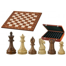 Chess complete set in wood Classic Staunton