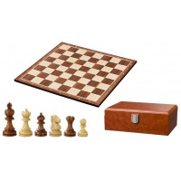 Chess complete set in wood Noble Staunton