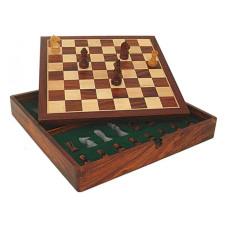 Wooden Chess Set Virgilian Magnetic FS 38x38