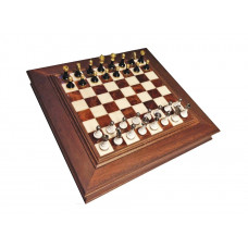 Chess & Draughts Not Foldable ML Alabastrin (41041)