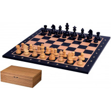 Chess Set Tournament Black L