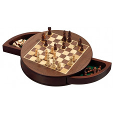 Chess Set Rounded SM (2727)
