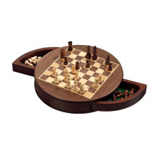 Chess Set Rounded Magnetic S (2729)