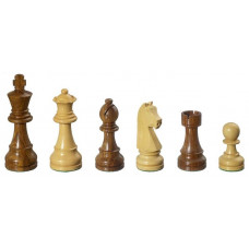 Wooden Chess Pieces hand-carved Arcadius KH 95 mm (2007)