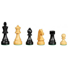 Wooden Chess Pieces hand-carved Arcadius KH 95 mm