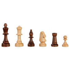 Chess Pieces of Alder hand-carved Heinrich KH 90 mm (2025)