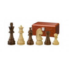 Wooden Chess Pieces hand-carved Titus KH 65 mm (2050)