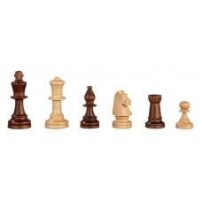 Chess Pieces of Alder hand-carved Heinrich KH 70 mm