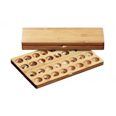 Omweso Set Bamboo M (Mancala advanced version)