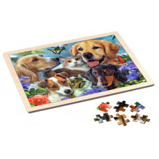 Puzzle Wooden 48 pieces - Togetherness