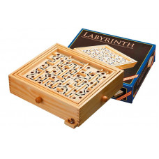 Labyrinth Game Made of Pine L (3199)