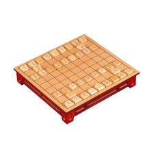 Shogi Game Standard Made of Basswood
