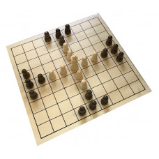 Tablut Game Standard Made of Basswood (03207)